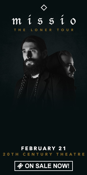 Missio: The Loner Tour - February 21 at 20th Century Theater