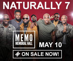 Naturally 7 - May 10 at Memorial Hall