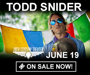 Todd Snider - June 19th at 20th Century Theater
