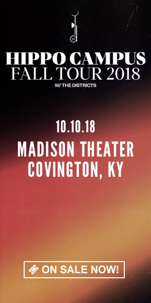 Hippo Campus - October 10 at Madison Theater