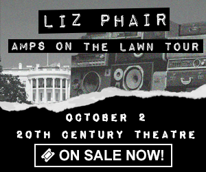 Liz Phair - Amps on the Lawn Tour - October 2 at 20th Century Theatre