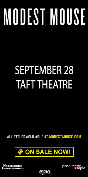 Modest Mouse - September 28 at Taft Theatre