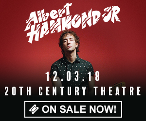 Albert Hammond Jr. - December 3rd at 20th Century Theatre