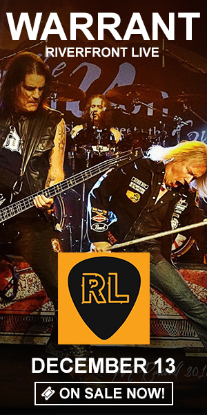 Warrant - December 13 at Riverfront Live