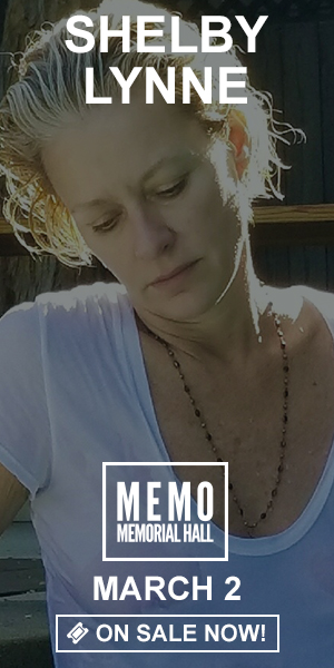 Shelby Lynne - March 2 at Memorial Hall