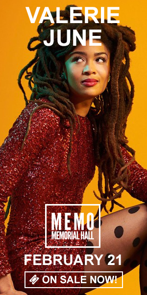 Valerie June - February 21 at Memorial Hall