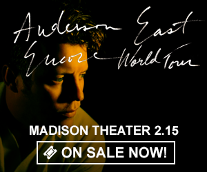 Anderson East - February 15 at Madison Theater