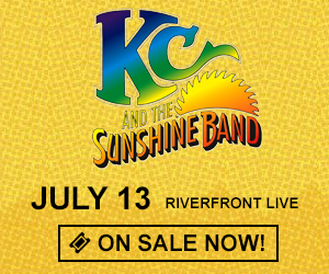 KC And The Sunshine Band - July 13 at Riverfront Live