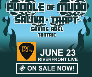 MuddFest 2019 - Puddle of Mudd / Saliva / Trapt - June 23 at Riverfront Live