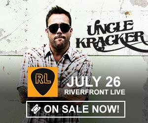 Uncle Kracker - July 26 at Riverfront Live