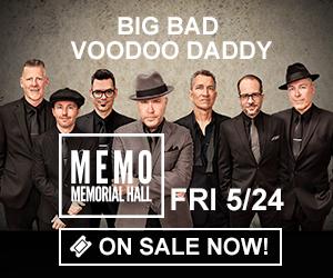 Big Bad Voodoo Daddy - Friday, May 24 at Memorial Hall