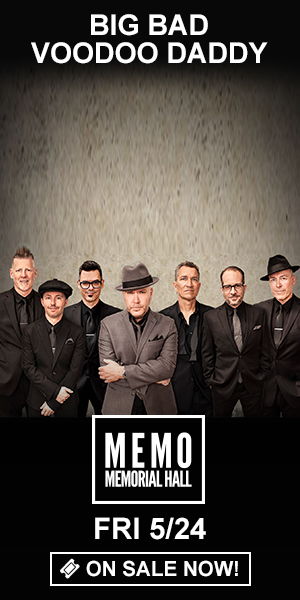 Big Bad Voodoo Daddy - Friday, May 24 at Memorial Hall