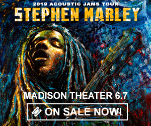 Stephen Marley - June 7 at Madison Theater