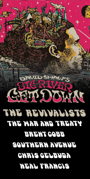 David Shaw's Big River Getdown - September 7 at River's Edge