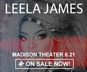 Leela James - June 21 at Madison Theater