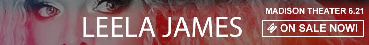 Leela James - June 21 at Madison Theater