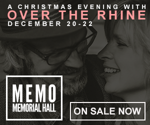 A Christmas Evening with Over The Rhine - December 20-22 at Memorial Hall