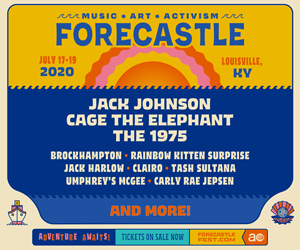 Forecastle Fest: Jack Johnson / Cage The Elephant / The 1975 & more - July 17-19