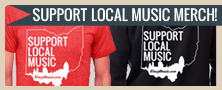 Buy the Cincinnati Support Local Music Tee