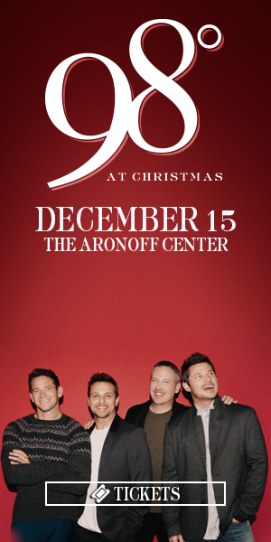 98 Degrees At Christmas - December 15 at The Aronoff Center