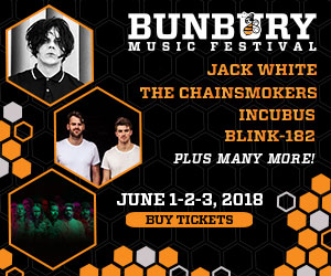Bunbury Music Festival - June 1-3 at Yeatman's Cove & Sawyer Point