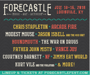 Forecastle Festival – July 13-15 in Louisville – Chris Stapleton / Arcade Fire / Modest Mouse